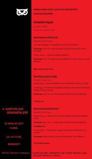 seminer 4 afiş